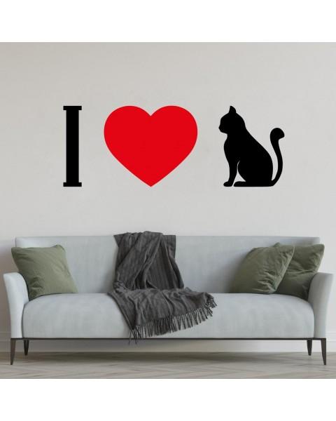 Аз обичам котки