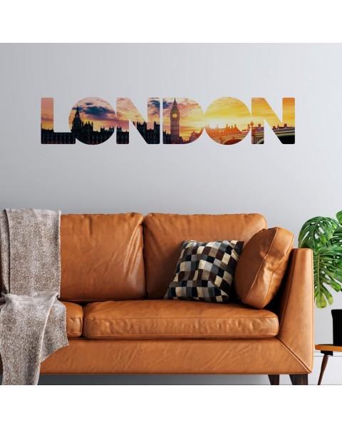 London надпис