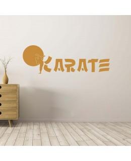 Надпис Карате