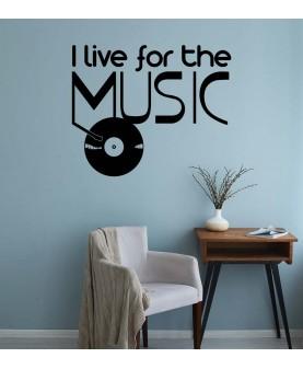 I Live For Live Music