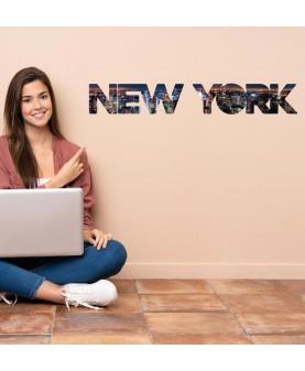 New York надпис