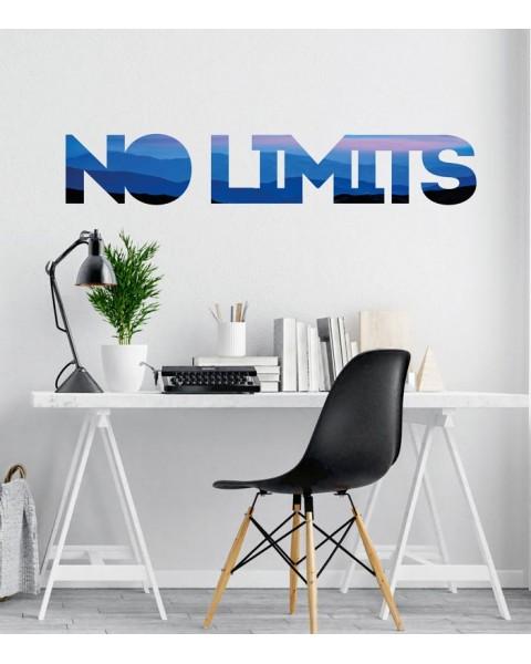 No Limits надпис