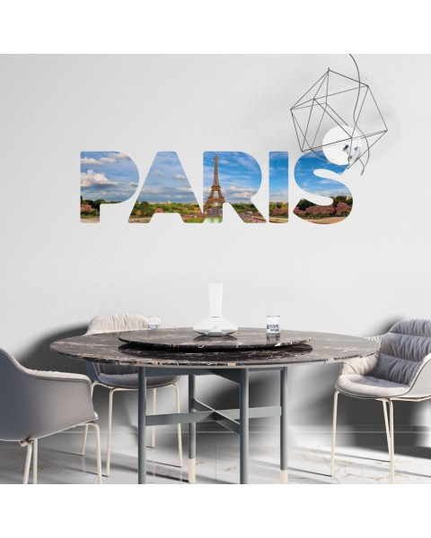 Paris надпис