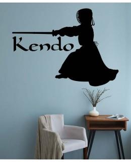 Кендо боец с меч