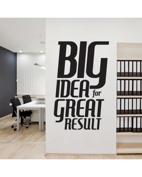 BIG Ideas to BIG Results