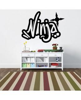 Надпис Ninja