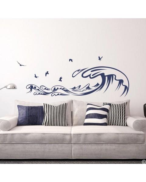 Вълни и чайки