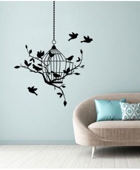 Птици и клетка