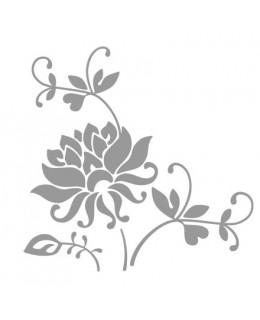 Цъфтящо цвете с клончета