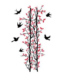 Жива пергола с птици