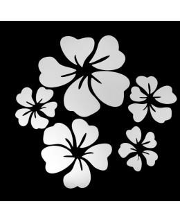Пролетни цветя - огледало