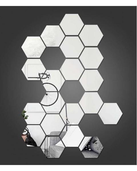 Огледални плочки - Хексагони