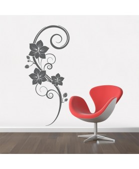 Орнамент с орхидея