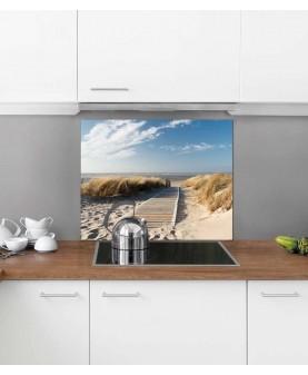 Пътека към плажа - Алуминиев протектор за кухня