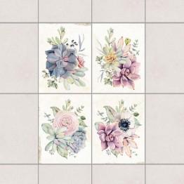 Акварелни цветя