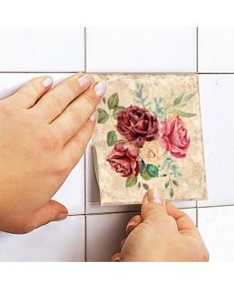 Винтидж рози и хортензии