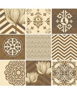 Стикери за плочки - Винтидж орнаменти