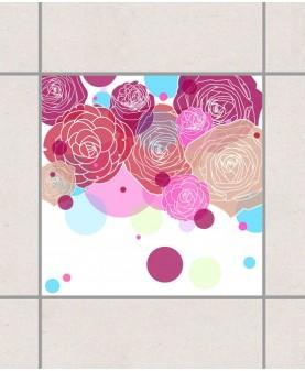 Рози и балончета