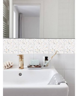 Terrazzo - Абстрактен пастел терацо