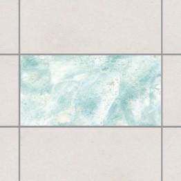 Памучен мрамор - тюркоаз