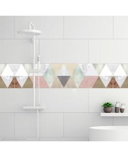 Aquarelle - триъгълна мозайка