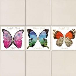 Пеперуди Фарфала - стикери за плочки