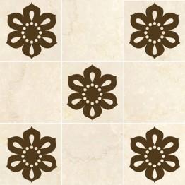 Ажурни стикери за плочки - Перлено цвете 8 бр.