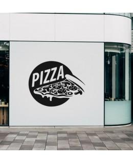 Надпис Pizza