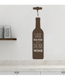 Спасете водата! Пиите вино