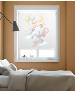 Слонче с балони - Ролетна щора