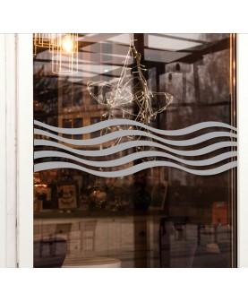 Вълни - фриз за стъкло
