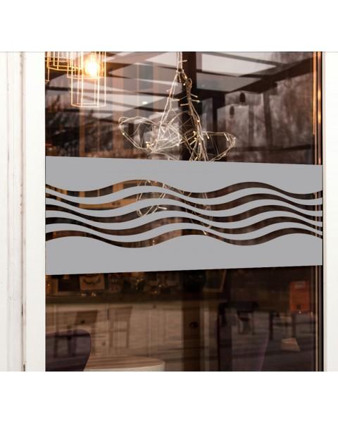 Вълни - фриз за стъкло 2