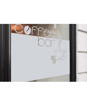 Фриз и надпис Coffee bar