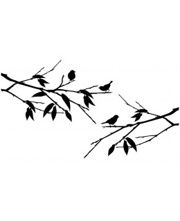Птички на клон