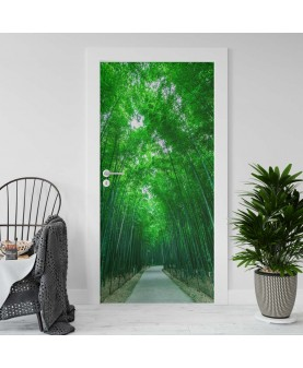 Бамбукова гора 2 - стикер за врата