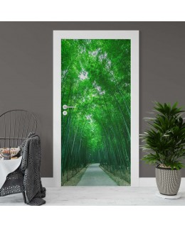Бамбукова гора 2 - фототапет за врата