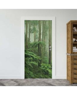 Дъждовна гора - фототапет за врата