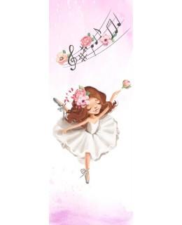 My tutu - Балерина 1, фототапет за врата