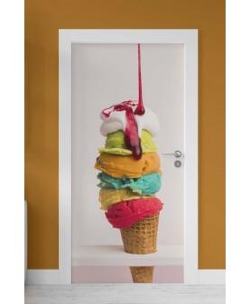 Сладолед - стикер за врата