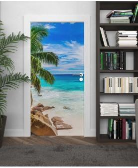 Тропици - стикер за врата