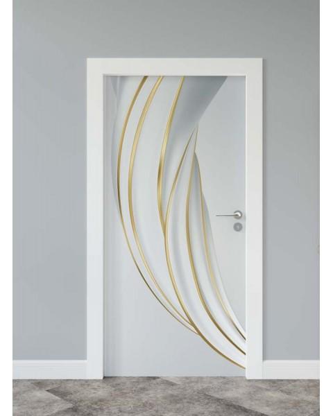 Абстрактен ефект 2 - стикер за врата