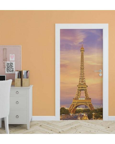 Айфелова кула - стикер за врата