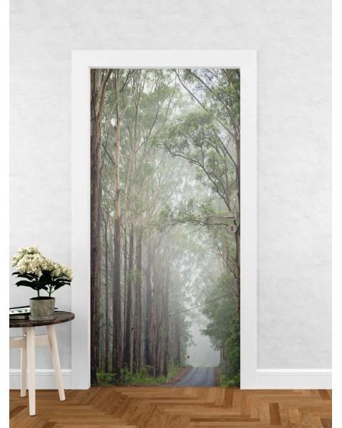 Горски път - фототапет за врата