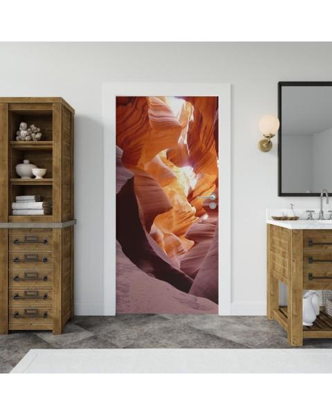 Каньона на антилопата - стикер за врата