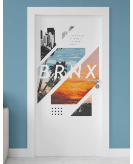 Вдъхновение - стикер за врата