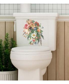 Стикер за тоалетна чиния - Ботаника