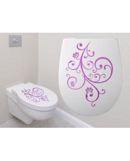Декорация за тоалетна чиния 1
