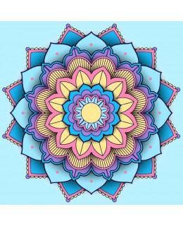 Цветна мандала - 2