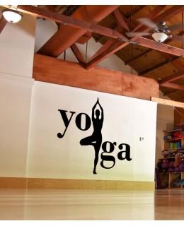 Надпис Йога 2
