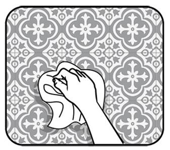 почистване иподържане на сикери за плочки